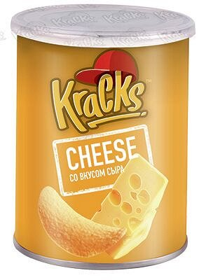 Картофельные чипсы Kracks Сыр туба 45р
