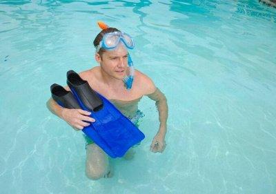 Мега новинки!Товары для плаванья, аэробики и бассейна! — Ласты, маски, трубки — Плавание