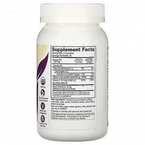 YumV&#x27 - s, Elderberry, Vitamin C & Vitamin D, Triple Defense, Berry Flavor, 25 mcg (1,000 IU), 60 Gummies