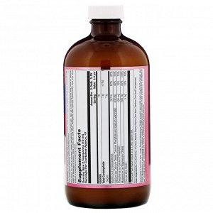 LifeTime Vitamins, Kids&#x27 -  Calcium Magnesium Citrate, Natural Cherry Flavor, 16 fl oz (473 ml)