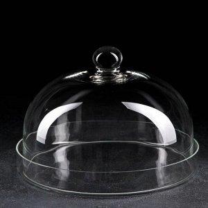 Поднос с крышкой (тортовница), d=30 см