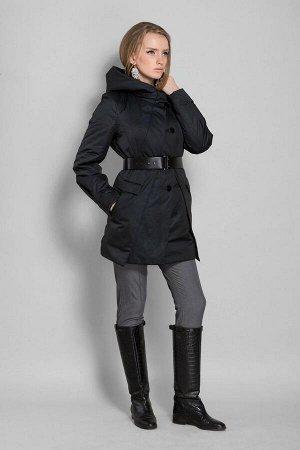 Куртка женская, цвет черный