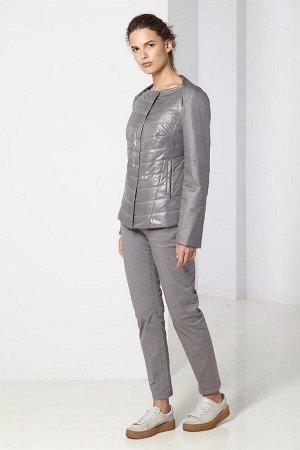 Куртка женская, цвет серо-бежевый
