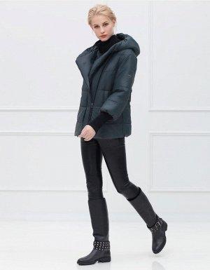 Куртка женская, цвет зеленый