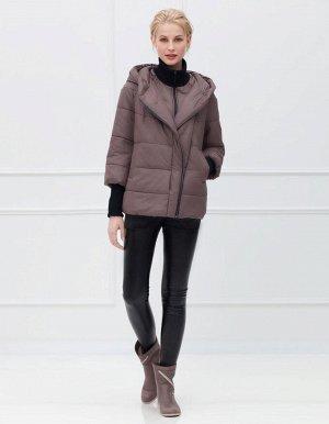 Куртка женская, цвет молочный шоколад