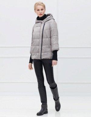 Куртка женская, цвет светло-серый
