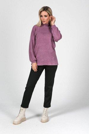 Блузка Амира №2.Цвет:сиреневый