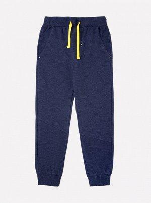 Брюки для мальчиков Crockid КР 4876 темно-джинсовый меланж к268