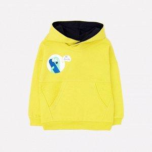Джемпер для мальчиков Crockid КР 301081 желтый к268