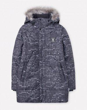 Куртка зимняя для мальчика ВКБ 36049/н/1 ГР