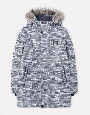 Куртка зимняя для мальчика ВКБ 36049/н/2 ГР