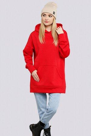 Красный Модные тенденции в сторону спортивного стиля дают нам свободу и удобство.  В такой удобной и теплой одежде вы точно не замерзнете в прохладную погоду. Данная модель может стать отличной базой