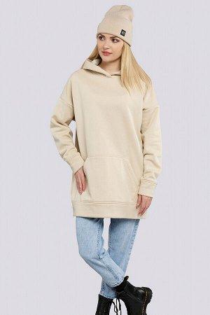 Бежевый Модные тенденции в сторону спортивного стиля дают нам свободу и удобство. В такой удобной и теплой одежде вы точно не замерзнете в прохладную погоду. Данная модель может стать отличной базой д