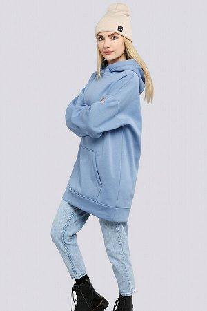 Голубой Модные тенденции в сторону спортивного стиля дают нам свободу и удобство. В такой удобной и теплой одежде вы точно не замерзнете в прохладную погоду. Данная модель может стать отличной базой д