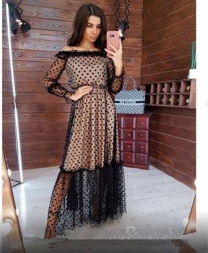 Платье Длина 135см Ткань: сетка с подкладкой