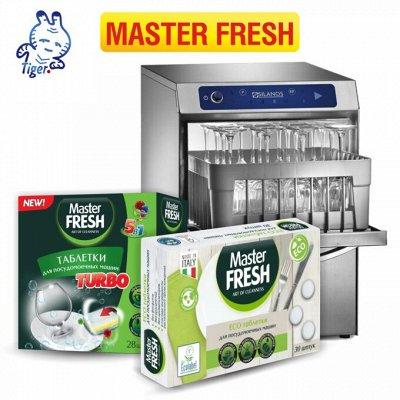 Master Fresh - мастер мытья в посудомоечной машине — MASTER FRESH — Для посудомоечных машин