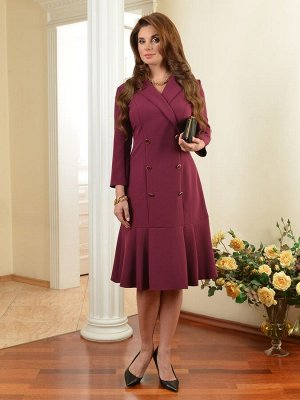 Арт. 7319 платье двубортное Salvi