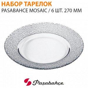 Набор тарелок Pasabahce Mosaic / 6 шт. 270 мм
