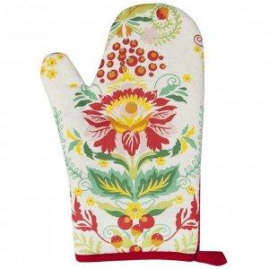 Набор рукавица + прихватка Bonita, Калинка