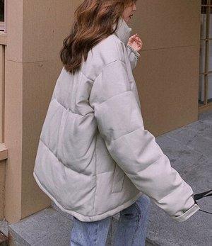 Женская куртка светло серая