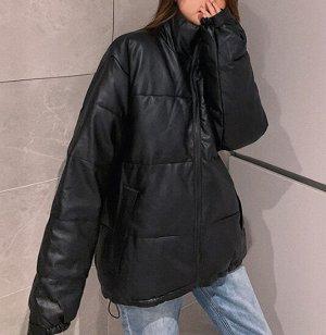 Женская куртка черная
