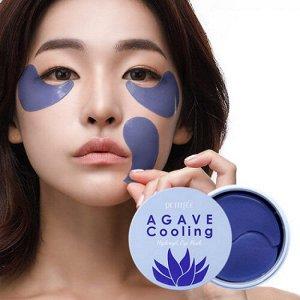 Petitfee Agave Cooling Hydrogel Eye Patch Охлаждающие гидрогелевые патчи с экстрактом агавы