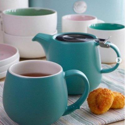 Anna Lafarg -Посуда о которой мечтали — чайники , сахарницы, молочники — Посуда