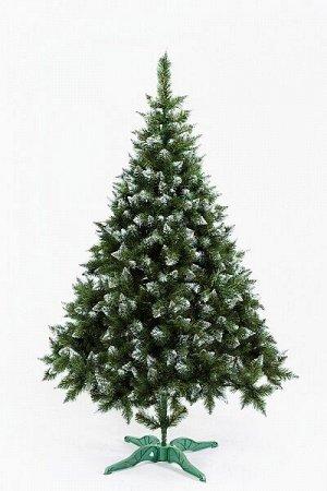 Рождественнская зеленая с белым кончиком 2,1 м