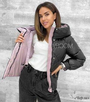 Куртка Куртка двусторонняя «Чарли» с капюшоном, свободный крой, рукав реглан. Материал: таслан. Наполнитель: холлофайбер. Температурный режим: до -10*С. Размерная сетка:⠀⠀⠀⠀⠀⠀ •36 размер: грудь от