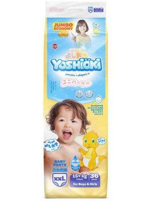 Трусики-подгузники YOSHIOKI, р. XXL (15+кг) 36 шт