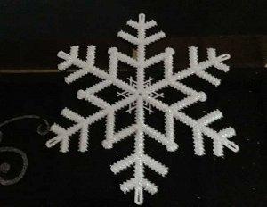 Декоративная снежинка 20см *