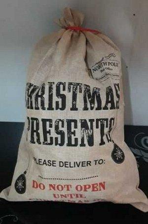 Мешок для подарков 47*67см *