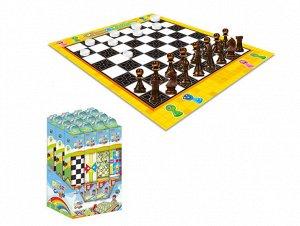 Поле для игры в шашки/шахматы