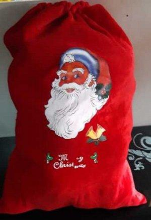 Мешок для подарков 70*50см*