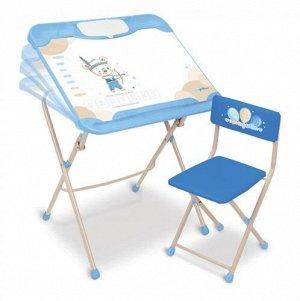 Набор мебели с охотником (стол+ мягк.стул) тм NIKA