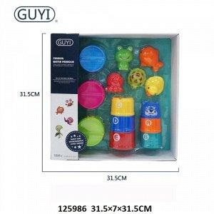 Набор игрушек для купания , кор.31,5*31,5*7 см