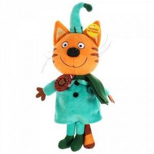 """Мягк. игрушка """"Мульти-пульти"""" Компот в зимней одежде м*ф Три кота,озвуч, 16 см,пак."""