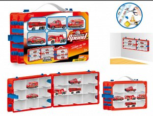Кейс для хранения +5 машинок ,28*19*8,5 см