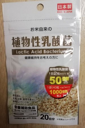 Лактис асид Японские молочнокислые бактерии