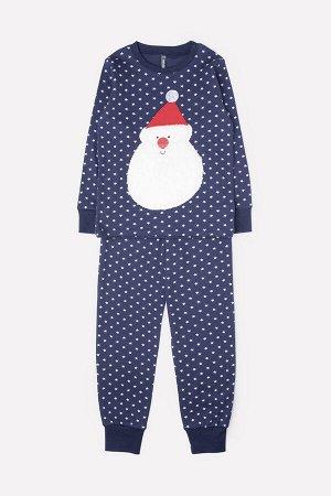 Пижама детская Crockid К 1531 поп-звезды на глубоком синем