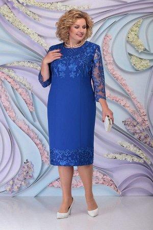 Платье Ninele 7297 василек
