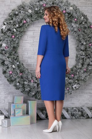 Платье Ninele 7305 василек