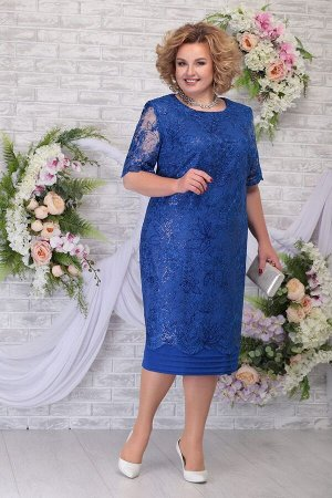Платье Ninele 5788 василек