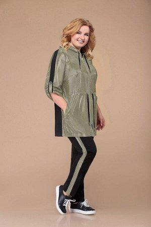 Брюки, куртка Svetlana-Style 1226 белое_золото