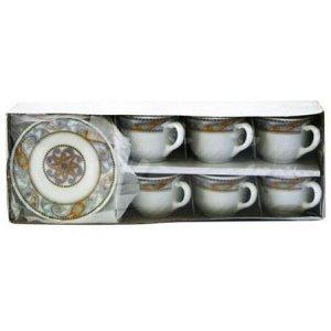 """Чайный набор """"ОРИЕНТ"""" 200мл 12пр. XWB190-HP55/6721"""