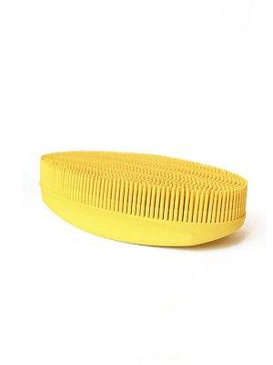 Щетка Овал желтая