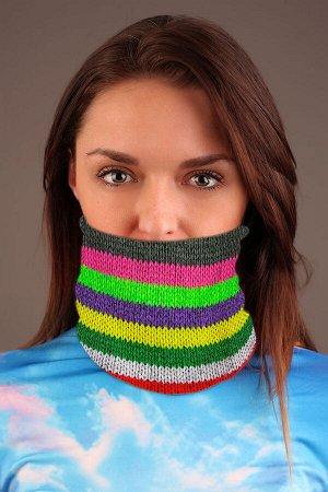 Ямайка 1 Красивый баф - повязка-трансформер на шею с ярким дизайнерским принтом. Повязка-трансформер может легко выполнять рольшарфа, балаклавы или даже шапочки, обеспечивая ваш комфорт и защиту от в