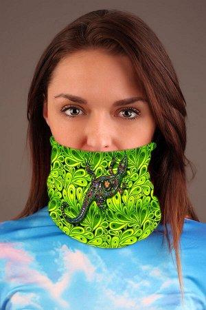Ящерица. Цвет зеленый