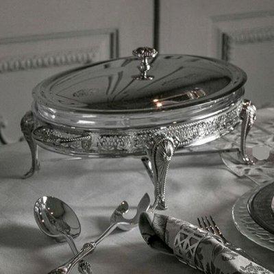 Anna Lafarg -Посуда о которой мечтали — Шикарная посуда из стекла и метала — Посуда