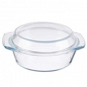 Противень Противень стеклянный с крышкой. Подходит для духовки, СВЧ, холодильника, посудомоечной машины Размер :  диаметр 29 см, высота чашки 9 см, высота чаши с крышкой 14 см